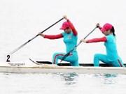 全国皮划艇锦标赛在河内举行