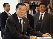柬埔寨新内阁召开首次会议 反对党威胁举行抗议示威活动
