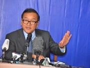 柬埔寨反对党愿与执政党人民党重启谈判