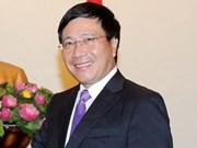 范平明外长在纽约出席东盟外长非正式会议