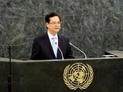 越南政府总理阮晋勇:面向无战争、无饥饿的世界