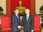 阮富仲总书记会见泰国为泰党高级代表团