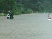 越南中部各地方抓紧克服十号台风后果工作