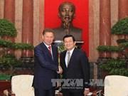 张晋创主席会见俄罗斯天然气工业股份公司董事长