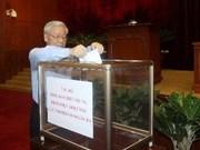 越南全国发起为中部灾民捐款活动