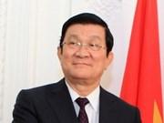 越南国家主席张晋创启程赴印尼出席APEC 21