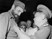 古巴领导人:武元甲大将形象永远铭刻在古巴人民心中