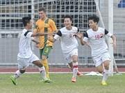 越南获得2014年U19亚洲青年足球锦标赛参赛资格