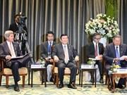 张晋创主席:加强越南与本地区各国互联互通是越南的一贯主张