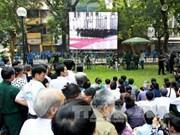 世界各国、越南驻外国代表机构举行武元甲大将悼念会