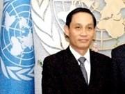 越南积极参与联合国今后各项发展计划