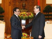 越南政府副总理会见中越友好协会会长