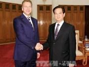 越南政府总理阮晋勇会见俄联邦政府第一副总理舒瓦洛夫