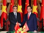 越中发表《新时期深化中越全面战略合作的联合声明》