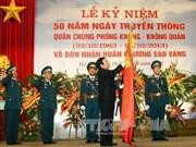 越南国家主席张晋创出席防空空军军种成立50周年庆典