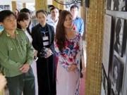 """""""帝国监狱里的女革命战士""""图片展在越南宣光省举行"""