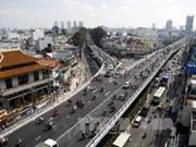 胡志明市最长的钢铁立交桥正式投入使用