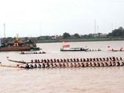 老挝赛船节正式开赛