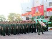 国家主席张晋创向一号军团致贺信