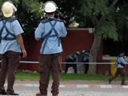 柬埔寨金边市对反恐警察进行特殊训练