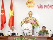 越南政府副总理阮春福:严禁各级领导包庇、从容犯罪