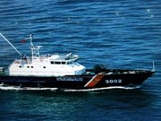 海警局司令部接收CSB 8001号巡逻船