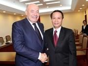 俄罗斯总统国际文化合作特使:越通社与俄塔社合作关系积极发展