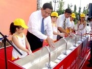 越南宁顺省8所小学校滤水系统安装