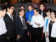 张晋创主席会见国会企业家代表
