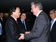 越南共产党与法国共产党加强合作关系