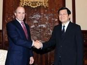张晋创主席会见美国东盟商业理事会主席