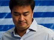 泰国前总理阿披实被控谋杀 再遭起诉