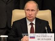 俄罗斯总统普京即将对越南进行国事访问