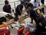 泰国沉船事故致6人死亡
