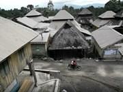 印尼:锡纳朋火山爆发 上千居民紧急疏散