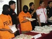 印度尼西亚:航空渠道走私和贩运毒品增多