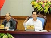 """阮晋勇总理要求整个政治体系主动应对超级台风""""海燕"""""""
