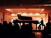 越南与日本举行首次钢琴节
