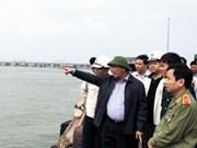 """阮春福总理指导超强台风""""海燕""""防范与应对工作"""
