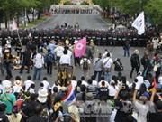 泰国执政联盟承诺在上议院否决情况下将放弃特赦法案
