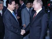 阮晋勇总理会见俄总统普京