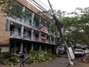 """超强台风""""海燕""""袭击越南致使18人死亡和失踪"""