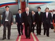 俄罗斯总统开始对越南进行国事访问