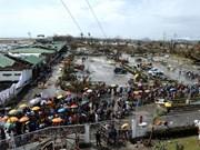 协助旅菲越南灾民克服台风后果