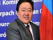 蒙古总统即将对越南进行国事访问