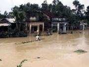 越南中部和西原等地遭暴雨洪水已致31人死亡2人失踪