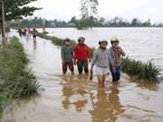 越南南中部和西原地区洪灾致40人死亡和失踪