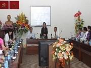 阮氏缘副主席:发展教育培训事业是政行企校的共同责任