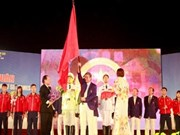 越南体育代表团出征第27届东南亚运动会