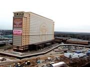 坐落在莫斯科的河内-莫斯科饭店、商贸、文化中心落成